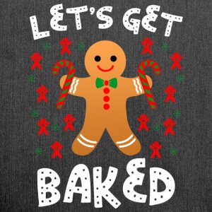 Lets Get Baked - Schultertasche aus Recycling-Material