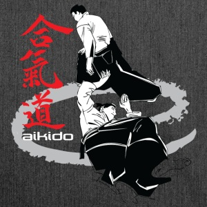 Martial arts Aikido - Shoulder Bag made from recycled material