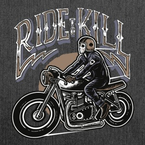 Ride to kill - Schultertasche aus Recycling-Material