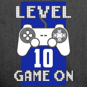 Level 10 - Game On - Schultertasche aus Recycling-Material