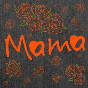 Mama - Schultertasche aus Recycling-Material