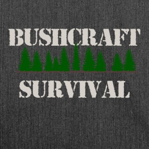 Bushcraft Survival - Shoulder Bag made from recycled material