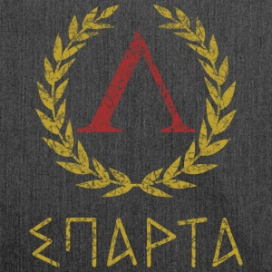 SPARTA IN GREEK - Skuldertaske af recycling-material