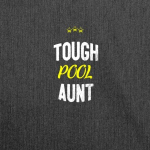 Distressed - TOUGH POOL AUNT - Schultertasche aus Recycling-Material