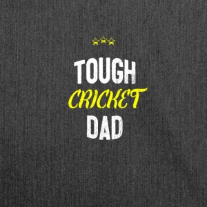 Verontruste - TOUGH CRICKET DAD - Schoudertas van gerecycled materiaal