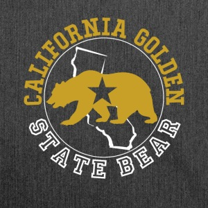 California Golden State Bear - Shoulder Bag made from recycled material
