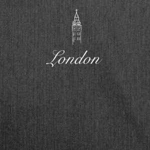 london minimal Big Ben uk brexit Travel England lol - Shoulder Bag made from recycled material