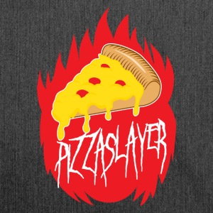 Pizza Slayer - Schultertasche aus Recycling-Material