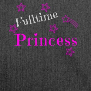 Princess princess design gift - Shoulder Bag made from recycled material