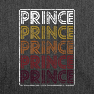 Prince Retro Wordmark Pattern - Shoulder Bag made from recycled material