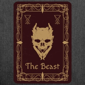 The Beast Tarot - Shoulder Bag made from recycled material