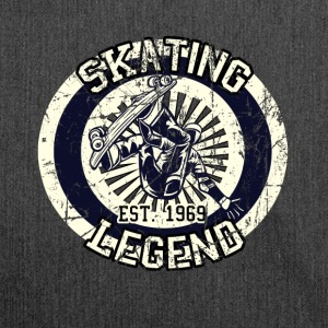Skateboarder skating legende Board 1969 - Skuldertaske af recycling-material