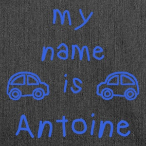 ANTOINE MY NAME IS - Shoulder Bag made from recycled material