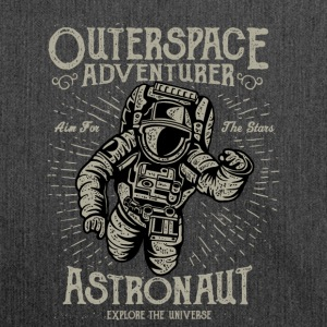 Destressed Outerspace Adventurer Design - Shoulder Bag made from recycled material