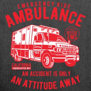 AMBULANCE - Ambulance Shirt Design - Schoudertas van gerecycled materiaal