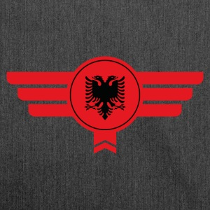 Albania emblem flag - Shoulder Bag made from recycled material