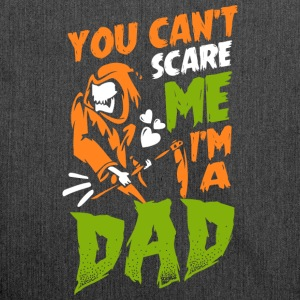 You can´t scare me I´m a dad - Schultertasche aus Recycling-Material