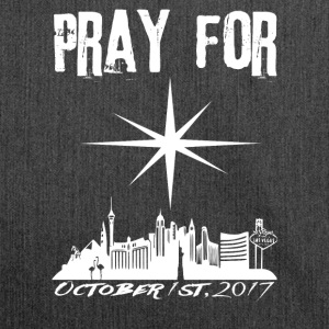 Pray for Vegas october 1st, 2017 - Schultertasche aus Recycling-Material