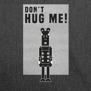 Cow Rock Heavy Metal Don`t hug me - Shoulder Bag made from recycled material