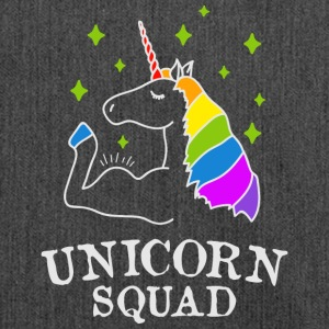 Unicorn Squad - gym fitness - Skuldertaske af recycling-material
