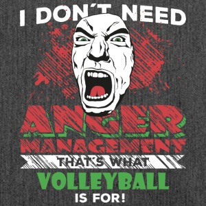 Anger Management - VOLLEYBOLL - Axelväska av återvinningsmaterial