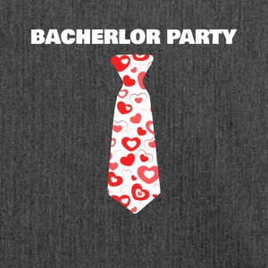 Bachelor Party JGA Bachelorette Party Necktie - Shoulder Bag made from recycled material