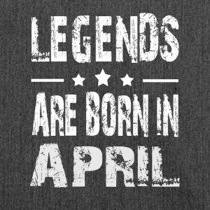Legends are born in APRIL - Shoulder Bag made from recycled material