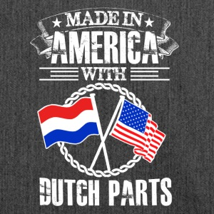 Made in America with Dutch Parts - Schultertasche aus Recycling-Material