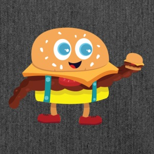 Cute Burger - Shoulder Bag made from recycled material