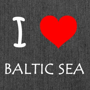 I Love Baltic Sea - Shoulder Bag made from recycled material