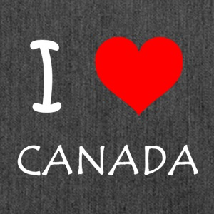I Love Canada - Schultertasche aus Recycling-Material