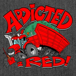 Addicted2RED - Skulderveske av resirkulert materiale