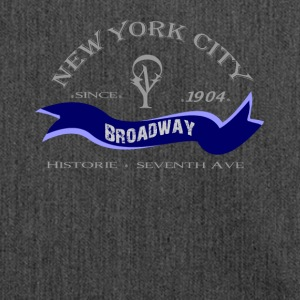 "New York City ""Broadway"" - Shoulder Bag made from recycled material"
