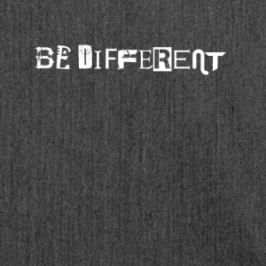 Be different - Shoulder Bag made from recycled material