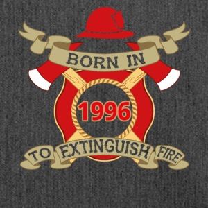 Born 1996 Fire Fire Department - Shoulder Bag made from recycled material
