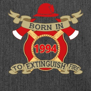 Born 1994 Fire fire brigade - Shoulder Bag made from recycled material