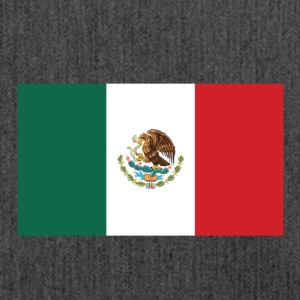National Flag Of Mexico - Axelväska av återvinningsmaterial