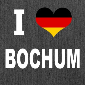 I Love Germany BOCHUM - Schultertasche aus Recycling-Material