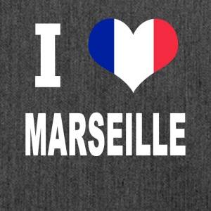 I Love MARSEILLE - Shoulder Bag made from recycled material