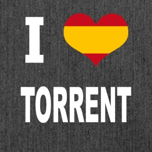 I Love Spain TORRENT - Schultertasche aus Recycling-Material