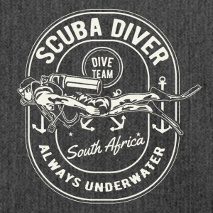 Scuba Diver Diving team Sud Africa Camicia - Borsa in materiale riciclato