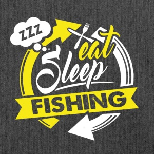 Eat - Sleep - Fishing Angler Shirt Gift - Shoulder Bag made from recycled material