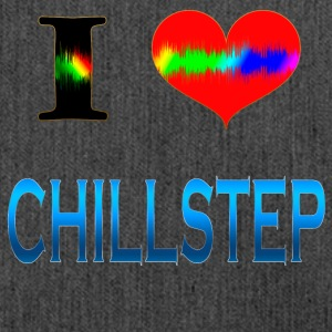 I Love Chill Step - Skuldertaske af recycling-material