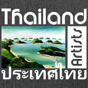Thailand Theme: Ang Thong, Marine  Park - Shoulder Bag made from recycled material
