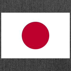 Nationalflagge von Japan - Schultertasche aus Recycling-Material