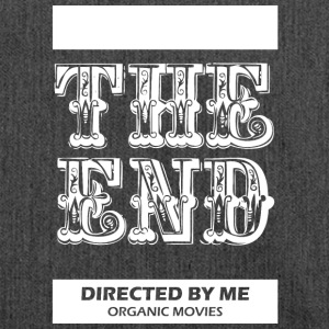 Theendmovie wite - Shoulder Bag made from recycled material