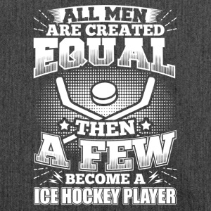 Funny Ice Hockey Icehockey Shirt All Men Equal - Schultertasche aus Recycling-Material