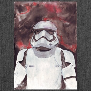 Stormtrooper Galaxy Art - Shoulder Bag made from recycled material