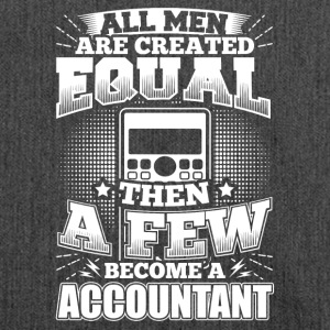 Funny Accounting Accountant Shirt All Men Equal - Shoulder Bag made from recycled material