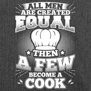 Funny Cook Cooking Shirt All Men Equal - Schultertasche aus Recycling-Material